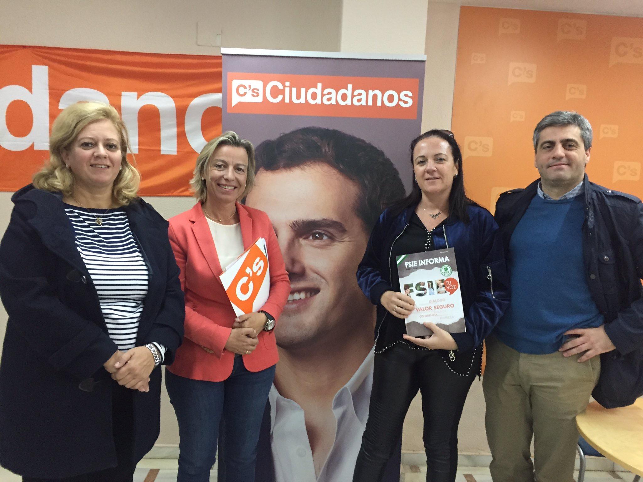 Reunión FSIE-A con Ciudadanos-Andalucía y CONCAPA