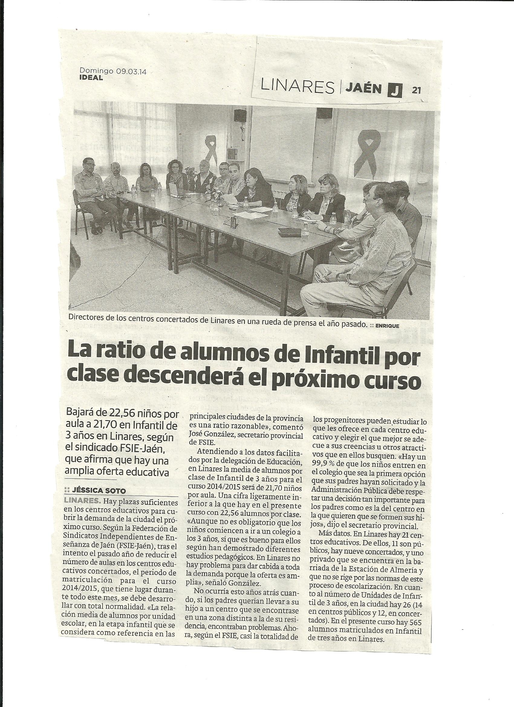 Ideal Linares 09.03.2014